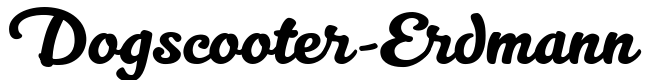 Dogscooter-Erdmann Der alternative Scooter-Laden