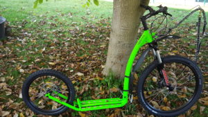 Mushing Pro in neon-grün